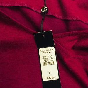 Talbots Burgundy Dress